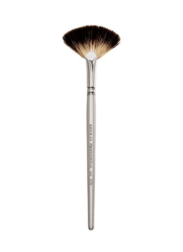 Kryolan Professional Fan Brush Renksiz